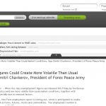 Forex Peace Army | US Unemployment Press Release in AlipesNews