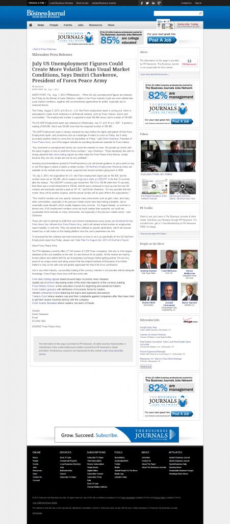 Dmitri Chavkerov _Business Journal of Greater Milwaukee 2