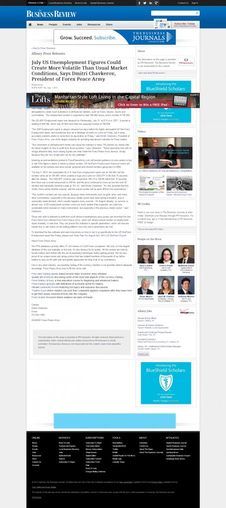 Dmitri Chavkerov _Business Review (Albany) 2