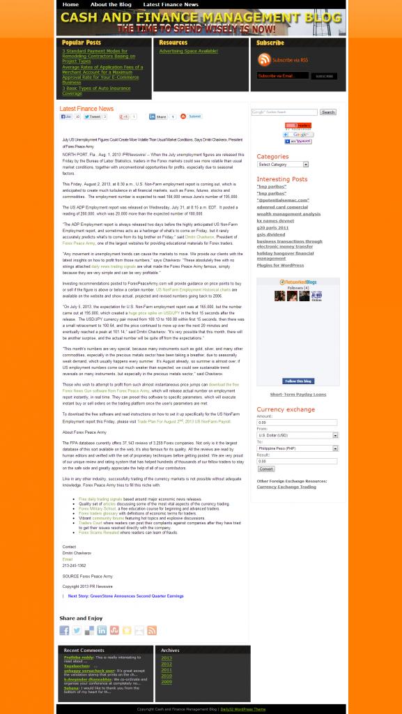 Dmitri Chavkerov _Cash and Finance Management Blog 2