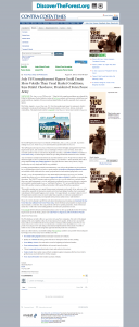 Forex Peace Army _Contra Costa Times 2