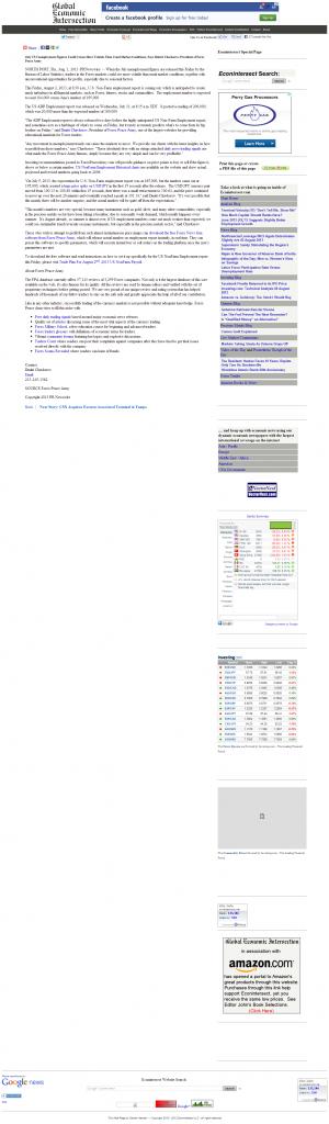 Dmitri Chavkerov _Global Economic Intersection 2