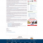 Forex Peace Army | US Unemployment Press Release in India Infoline