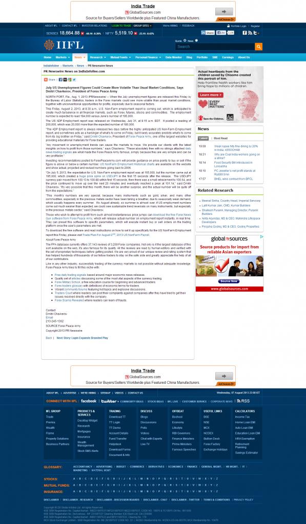 Dmitri Chavkerov _India Infoline 2