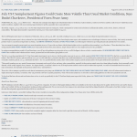 Forex Peace Army   US Unemployment Press Release in InvestTalk