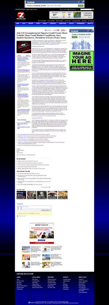 Dmitri Chavkerov _KPLC NBC-7 (Lake Charles-Lafayette, LA) 2