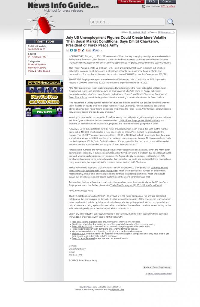 Dmitri Chavkerov _News Info Guide 2