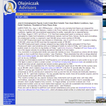 Forex Peace Army | US Unemployment Press Release in Olejniczak Advisors