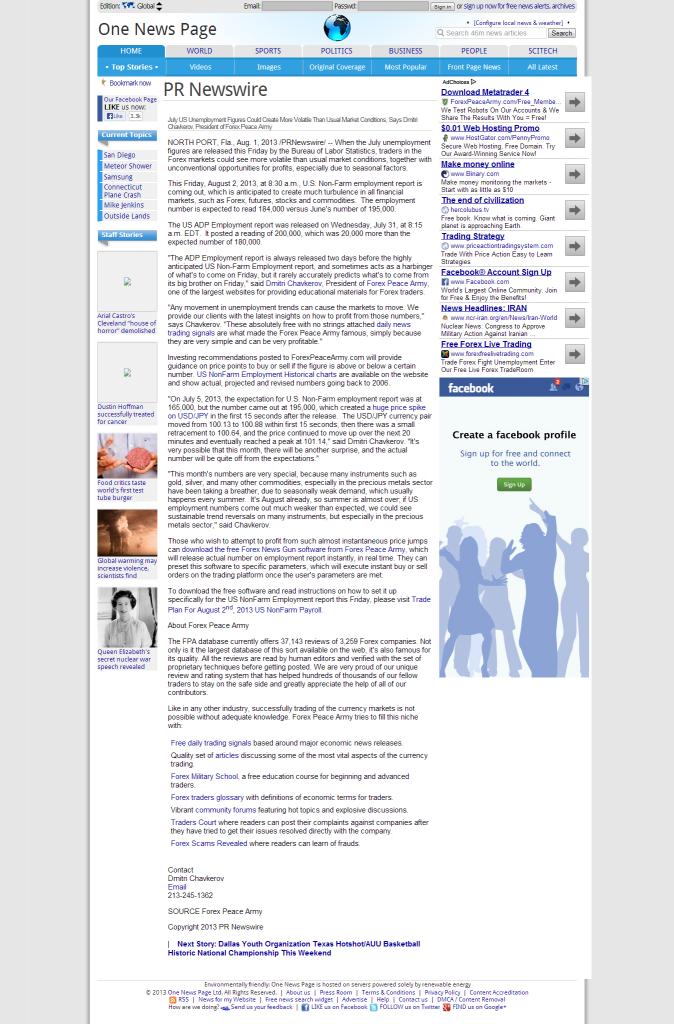 Dmitri Chavkerov _One News Page Global Edition 2