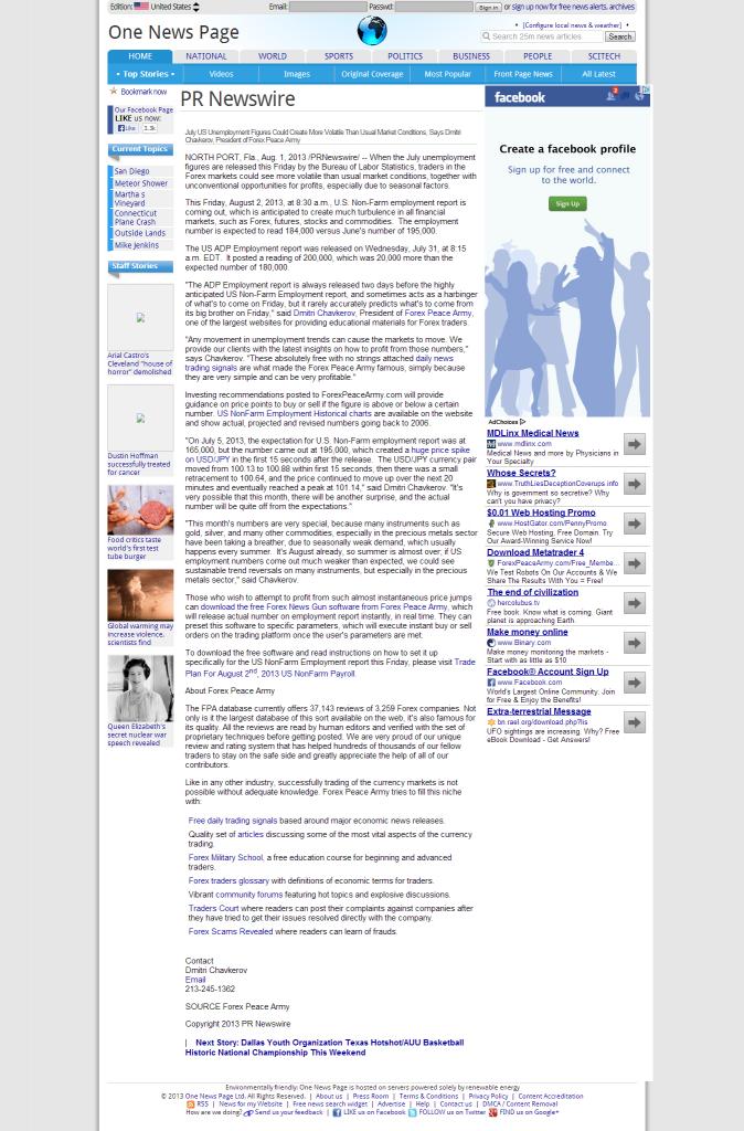 Dmitri Chavkerov _One News Page Unites States Edition 2