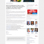 Forex Peace Army | US Unemployment Press Release in Orlando Business Journal