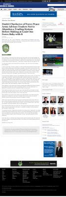 Dmitri Chavkerov -  Business Journal of Greater Milwaukee - Forex Baby Abortion