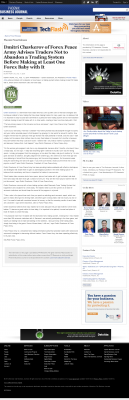 Dmitri Chavkerov -  Business Journal of Phoenix - Forex Baby Abortion