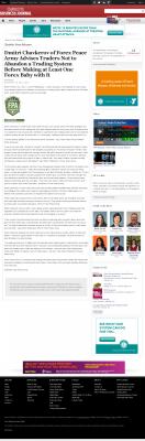 Dmitri Chavkerov -  Charlotte Business Journal - Forex Baby Abortion