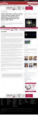 Dmitri Chavkerov -  Dayton Business Journal - Forex Baby Abortion