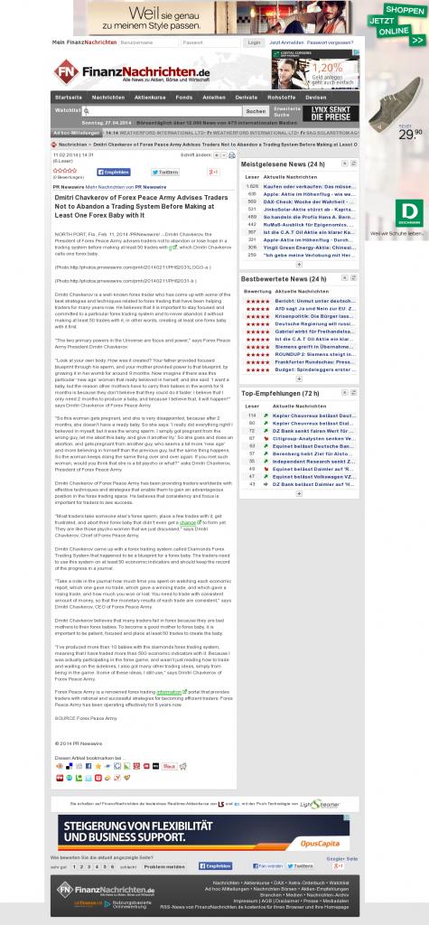 Dmitri Chavkerov - FinanzNachrichten.de (ABC New Media AG)- Forex Baby Abortion