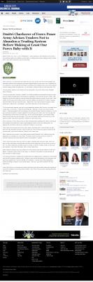 Dmitri Chavkerov -  Kansas City Business Journal - Forex Baby Abortion