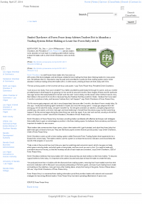 Dmitri Chavkerov -  Las Vegas Business Press - Forex Baby Abortion