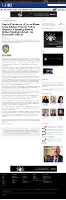 Dmitri Chavkerov -  Los Angeles Business from bizjournals - Forex Baby Abortion