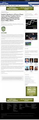 Dmitri Chavkerov -  Memphis Business Journal - Forex Baby Abortion