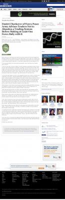 Dmitri Chavkerov -  Pacific Business News - Forex Baby Abortion