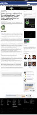 Dmitri Chavkerov -  Puget Sound Business Journal - Forex Baby Abortion
