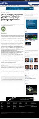 Dmitri Chavkerov -  San Antonio Business Journal - Forex Baby Abortion