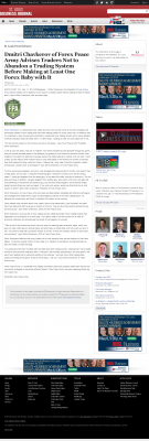 Dmitri Chavkerov -  St. Louis Business Journal - Forex Baby Abortion