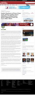 Dmitri Chavkerov -  Washington Business Journal - Forex Baby Abortion