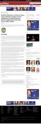 Dmitri Chavkerov -  Wichita Business Journal - Forex Baby Abortion